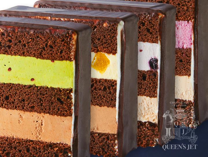 Queen's Jet-スライスチョコレートケーキ